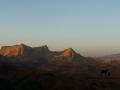 Jebel Mutamir at dawn, Sinai, Go tell it on the mountain, Ben Hoffler.jpg