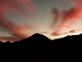 Red sky, Sinai, Go tell it on the mountain