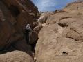 Scrambling, Jebel el Deir, Go tell it on the mountain
