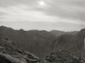 Cloudy sky, Sinai, Go tell it on the mountain
