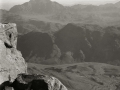 Dusk, from Jebel Musa, Go tell it on the mountain