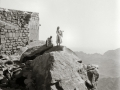 Jebel Musa, old chapel, Go tell it on the mountain