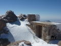 Jebel Katherina hut in the snow, Sinai, Go tell it on the mountain_result