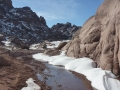 Snowmelt stream, Jebel Abu Gasaba, Sinai, Go tell it on the mountain_result