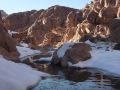 Snowmelt stream, Sinai, Go tell it on the mountain_result