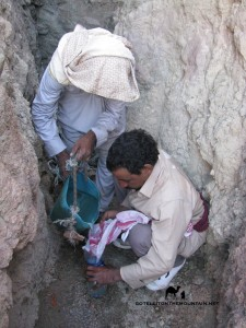 Bedouin getting water, Go tell it on the mountain_result