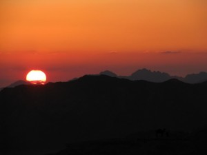 Mountain sunset, Sinai, Go tell it on the mountainjpg_result