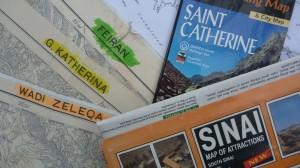 Sinai maps, Go tell it on the mountain