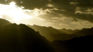 Sinai sunset, Go tell it on the mountain_result