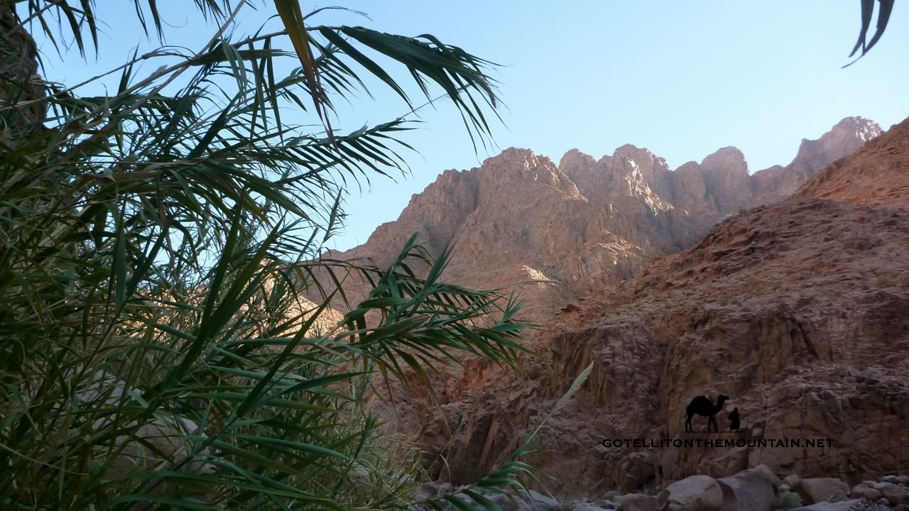 Jebel Naja, Sinai, Go tell it on the mountain