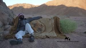 Wadi Mileihis, Go tell it on the mountain, Ben Hoffler
