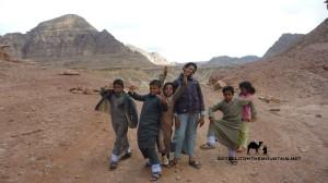 Wadi Sahu, Sinai, Go tell it on the mountain