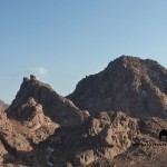 Jebel Abu Zeituna, Sinai, go tell it on the mountain