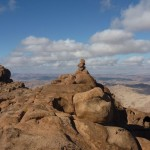 Jebel Seru summit, Sinai, Go tell it on the mountain