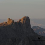 Twilight on Jebel el Ojar, Sinai, Go tell it on the mountain