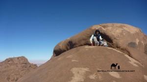 Jebel Tarkiba summit, Sinai, Go tell it on the mountain