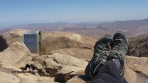 Admiring the view, Three Peaks Egypt, Ben Hoffler_result