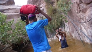 Canyoning Sinai, Ben Hoffler, Go tell it on the mountain
